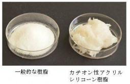 カチオン性アクリルシリコーン樹脂