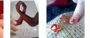 ネイルにレッドリボンを~サンスターのエイズ啓発キャンペーン
