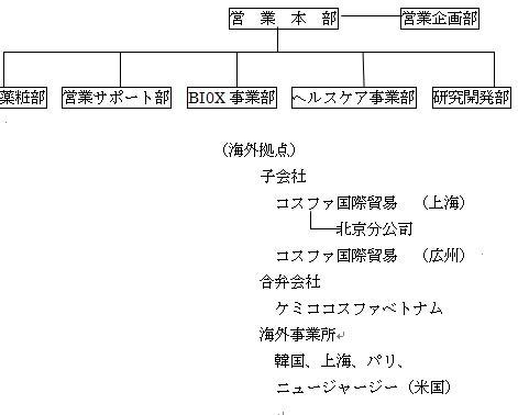 岩瀬コスファ_営業体制図