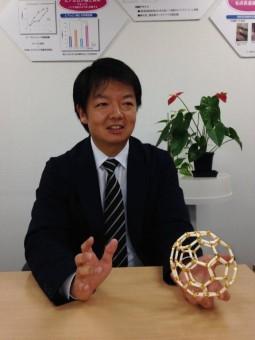 タミンC60バイオリサーチ新社長林源太郎氏