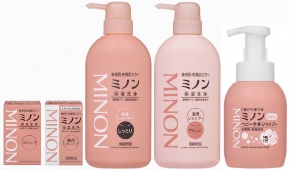 ミノン洗浄シリーズ