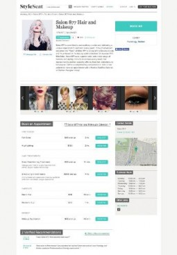 L'Oreal USA StyleSeat Profile Page For Salon 877