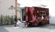 移動美容車による訪問美容サービスを開始