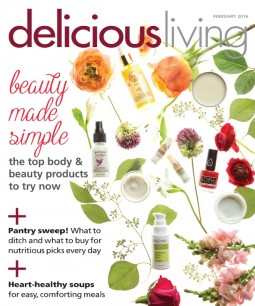 Delicious Living mag