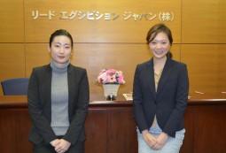 写真左:前広報/小田嶋美月氏、写真右:広報/友田優来氏