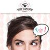 米ベネフィット化粧品、眉の形で感情を解読するキャンペーン開始