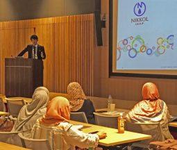 日光ケミカルズ、第1回ハラル医薬品化粧品国際会議で口頭発表