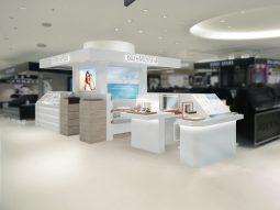 ベアミネラル サステナブルなコンセプトカウンターをそごう横浜店1階にオープン